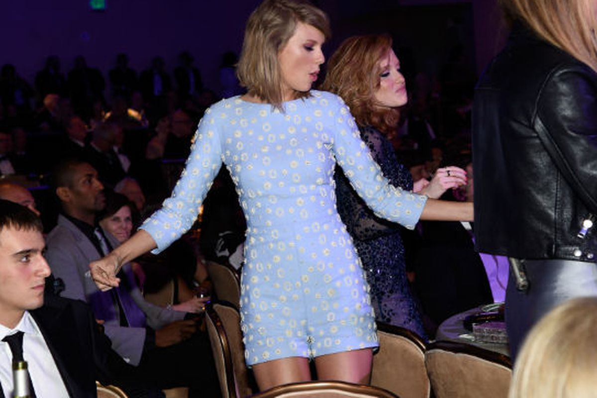 29702b4809ac Taylor Swift s Fancy Playsuit Had Way More Fun Than Everyone - Racked