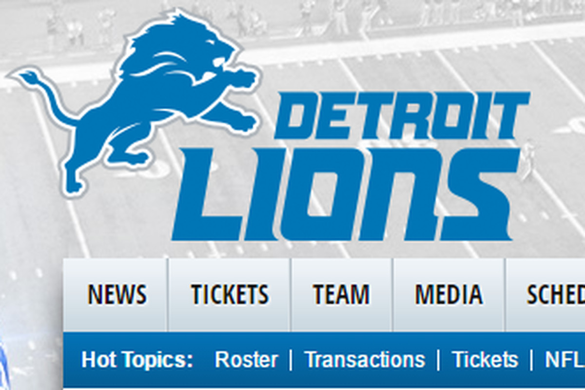 its super bowl week but that didnt stop the detroit lions graphic design department from drumming up a little news for the team