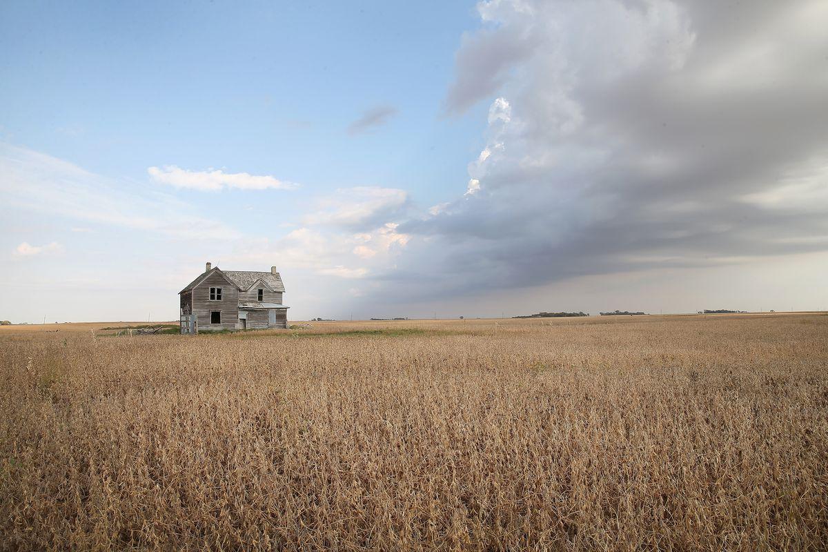 A South Dakota farm.