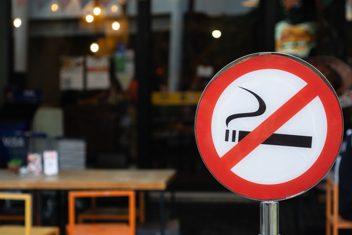 The Atlanta City Council voted to forbid smoking inside restaurants and bars