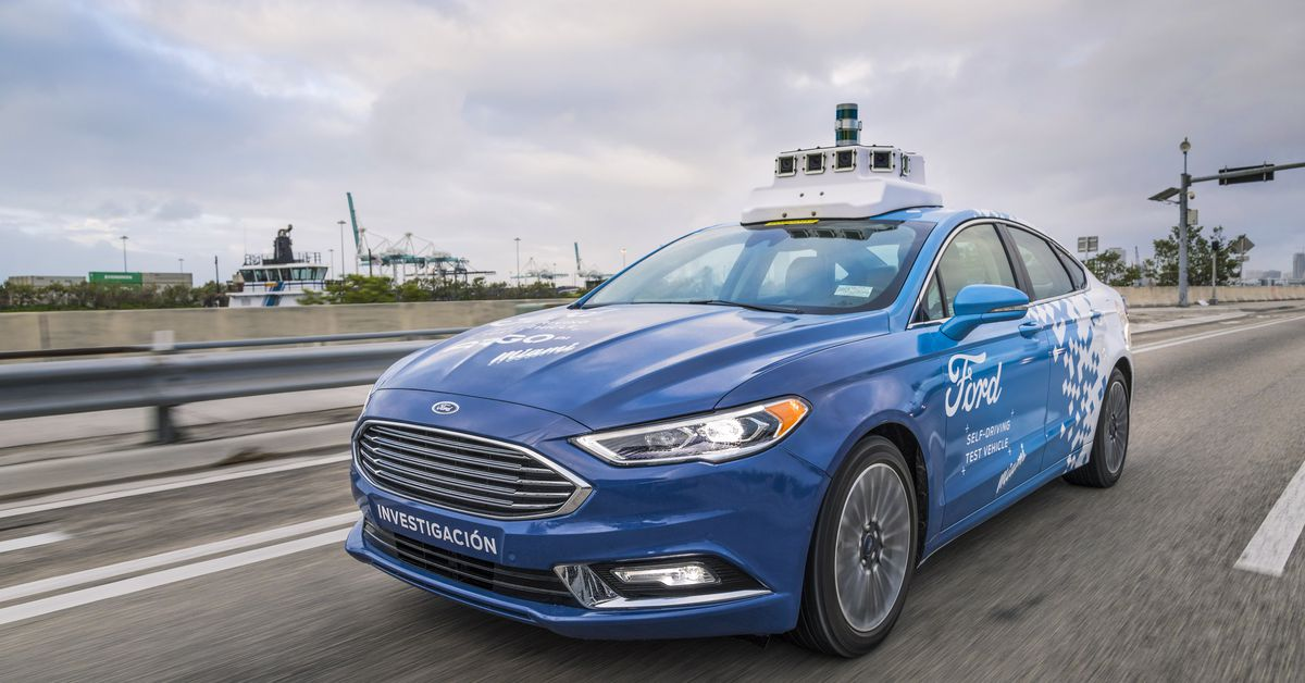 Ford says slow-and-steady will win the self-driving car race
