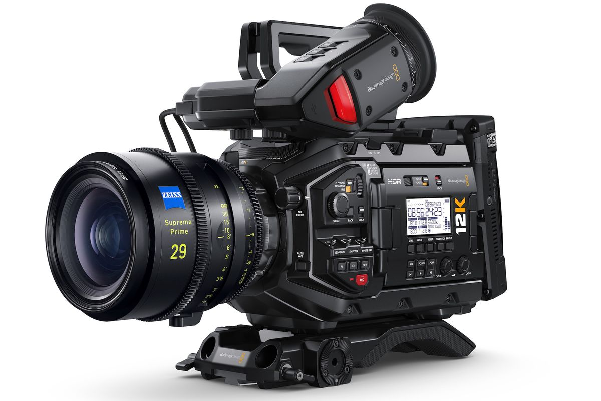 Blackmagic Announces 12k Video Camera For 9 995 The Verge