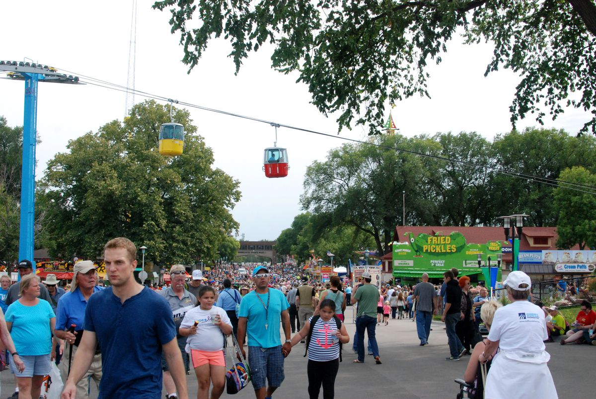 The First Day of the Minnesota State Fair at 4:00 PM