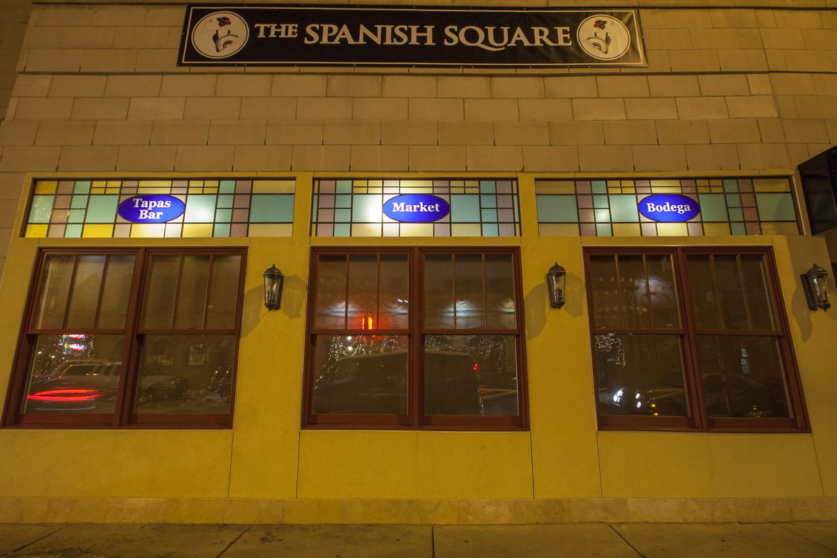 The Spanish Square Marc Much/Eater Chicago