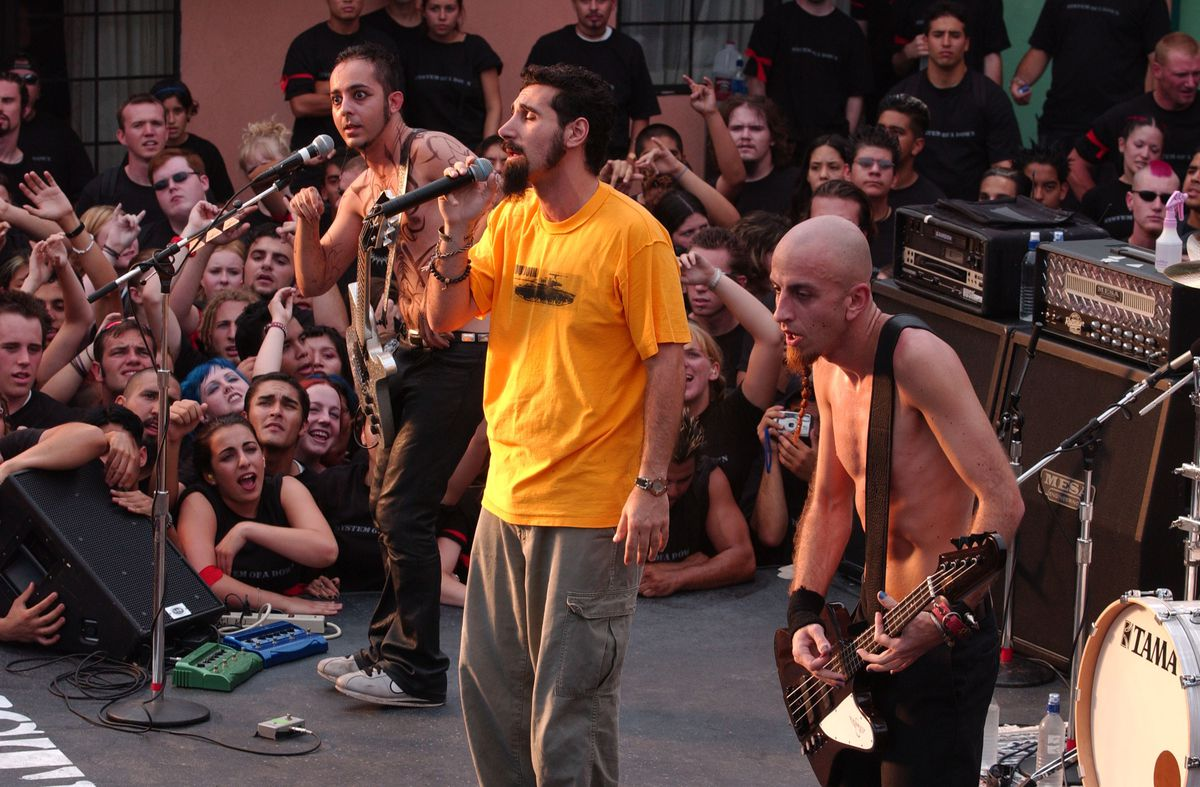 System of a Down Video Shoot