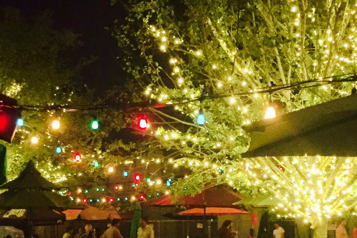 Nola S Newest Drinking Patio Is Part Beer Garden Part
