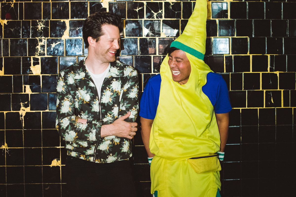 Mayer Hawthorne and Nguyen Tran of Starry Kitchen