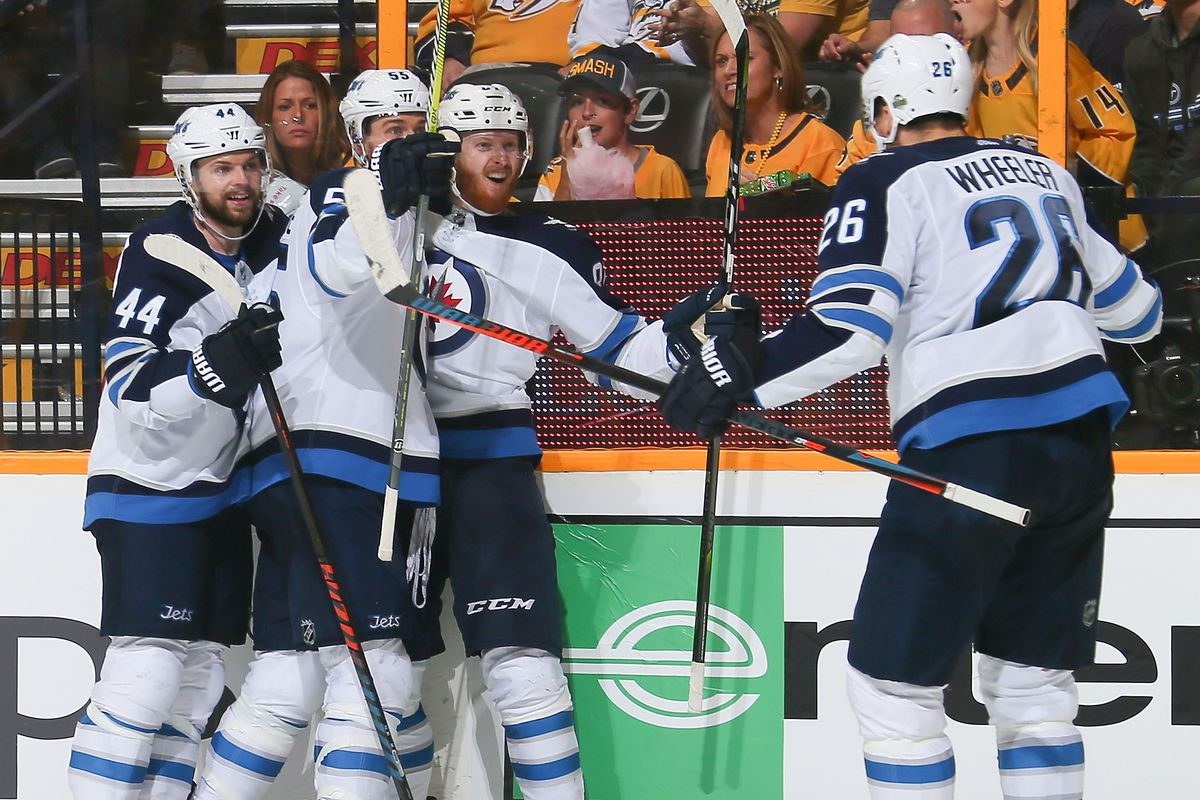 Game Five Recap Jets Push Preds To The Brink Arctic Ice Hockey