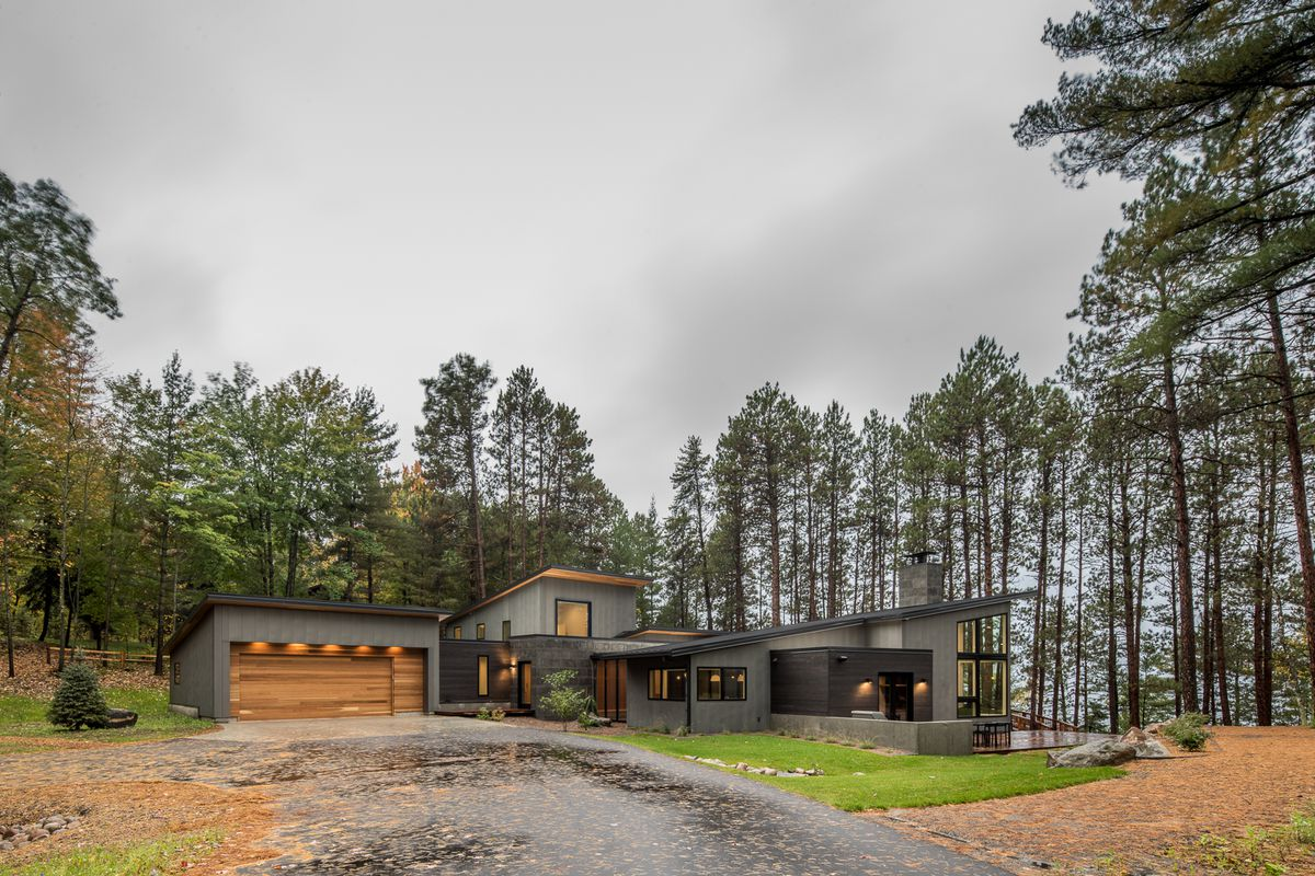 Campers For Sale In Mn >> This Scandinavia-inspired lake home is a sweet modern ...
