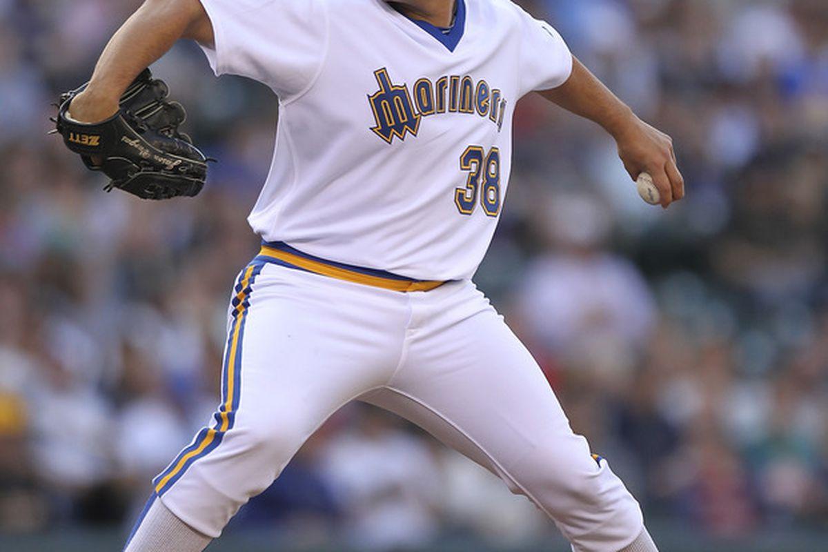Jason Vargas can really wear a uniform