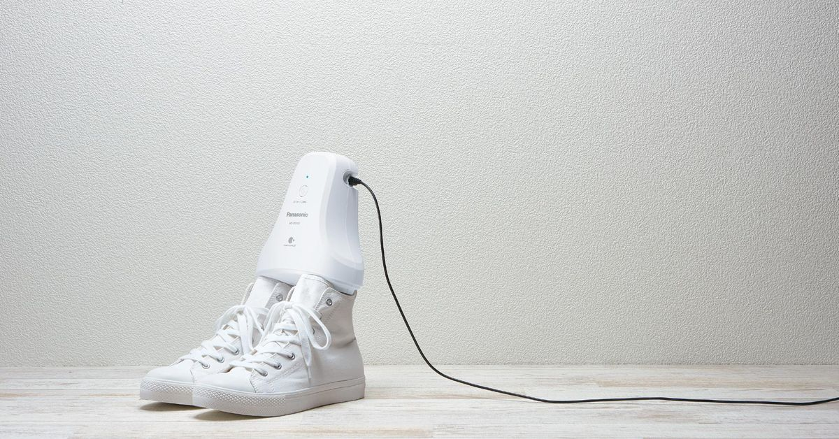 New Panasonic device sucks up your shoe smells, if you have five hours
