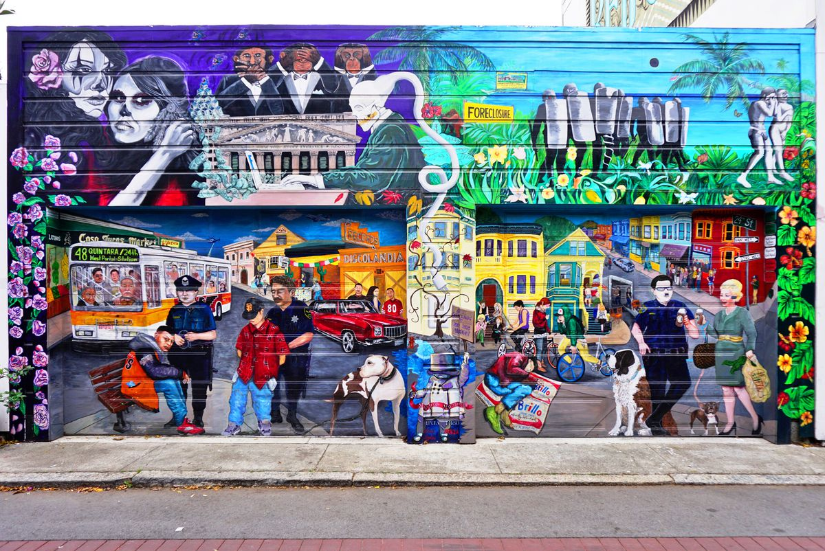 Mission District Murals Photo Shutterstock