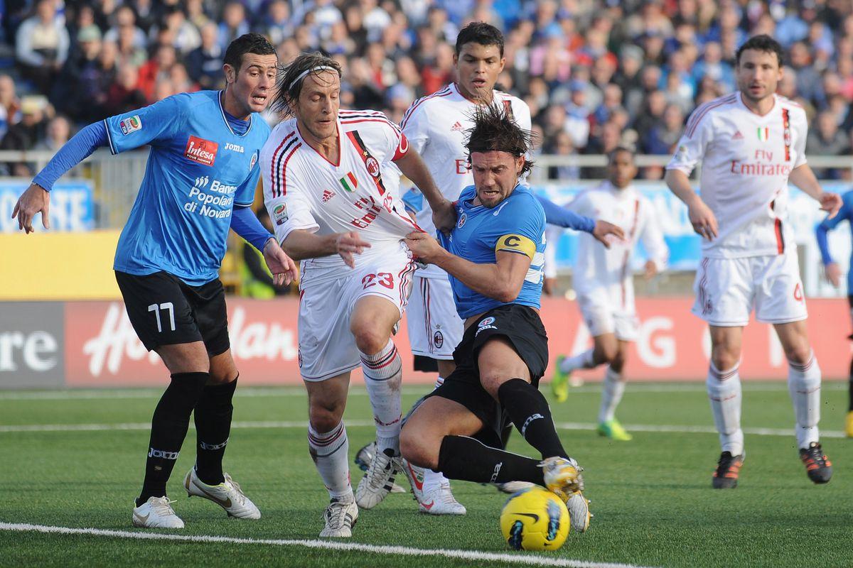 Novara Calcio v AC Milan - Serie A