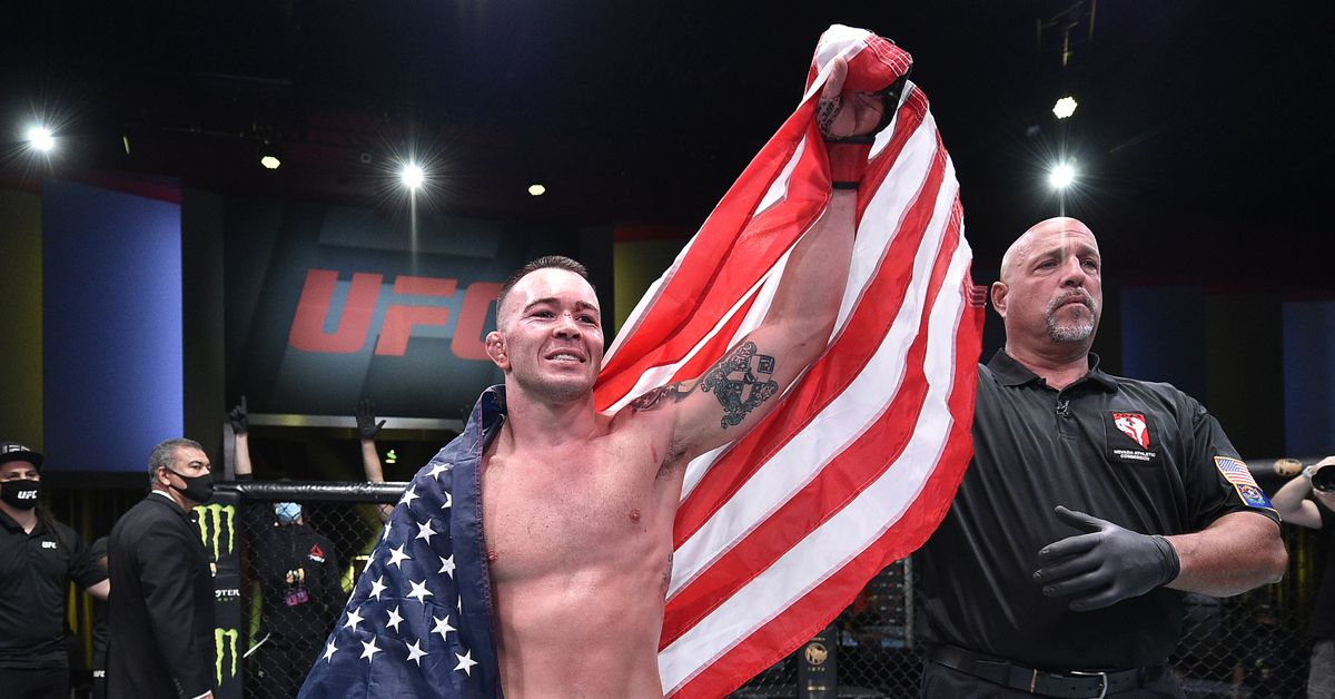 <p>Covington vs. Edwards targeted for No. 1 Competition fight thumbnail