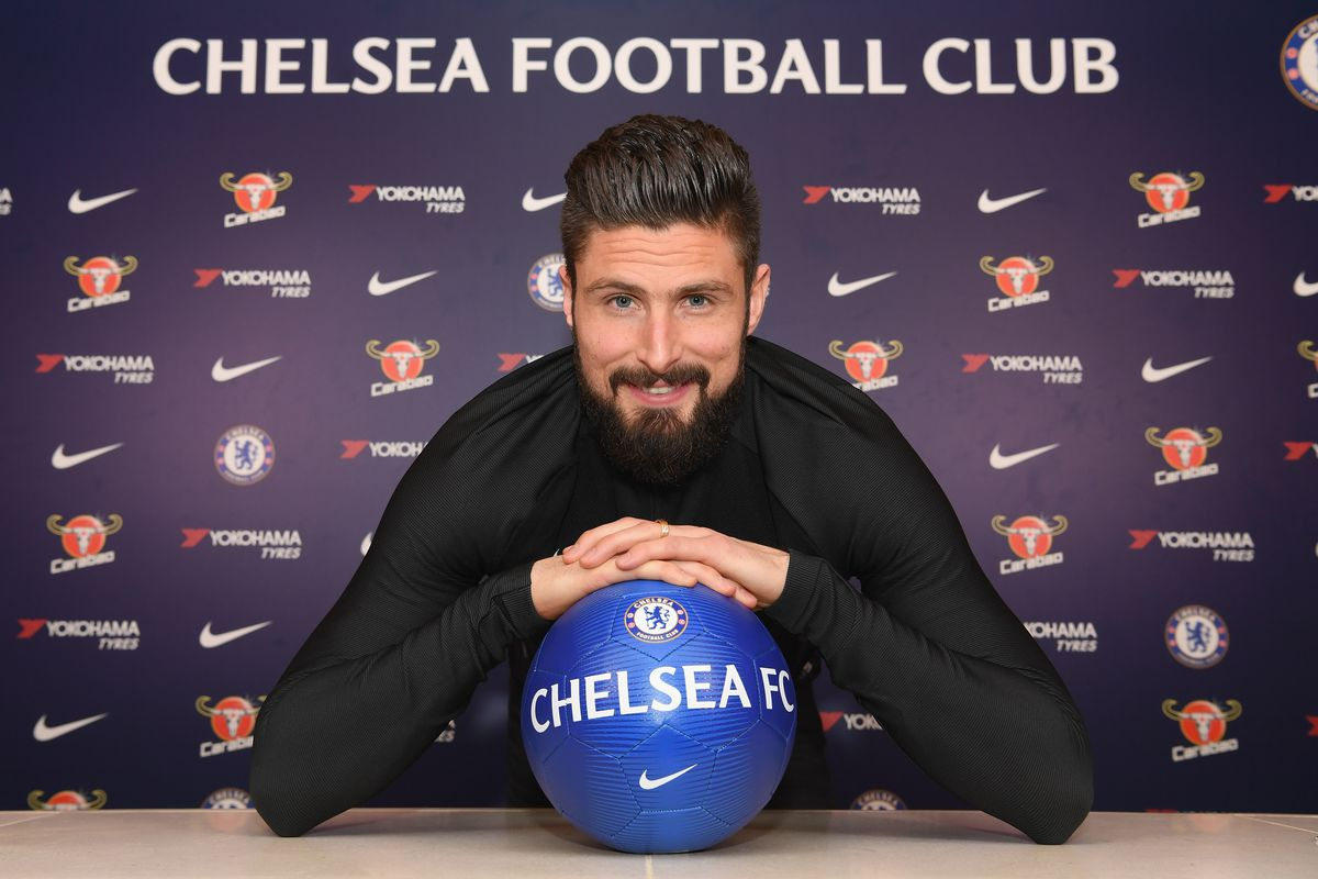 Chelsea Unveil New Signing Olivier Giroud