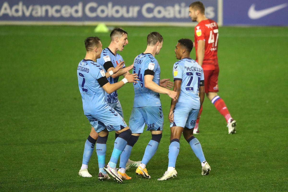 Coventry City v Reading - Sky Bet Championship - St Andrews