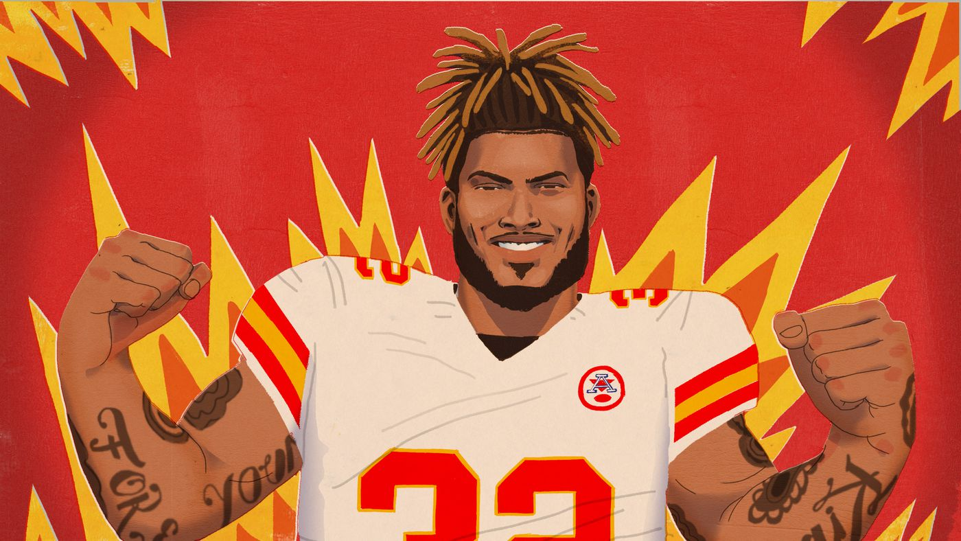 How Tyrann Mathieu Went From Honey Badger to a Leader for the Chiefs
