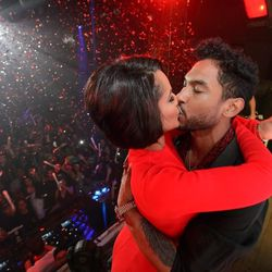 Nazanin Mandi and Miguel at Tao. Photo: Al Powers/Powers Imagery
