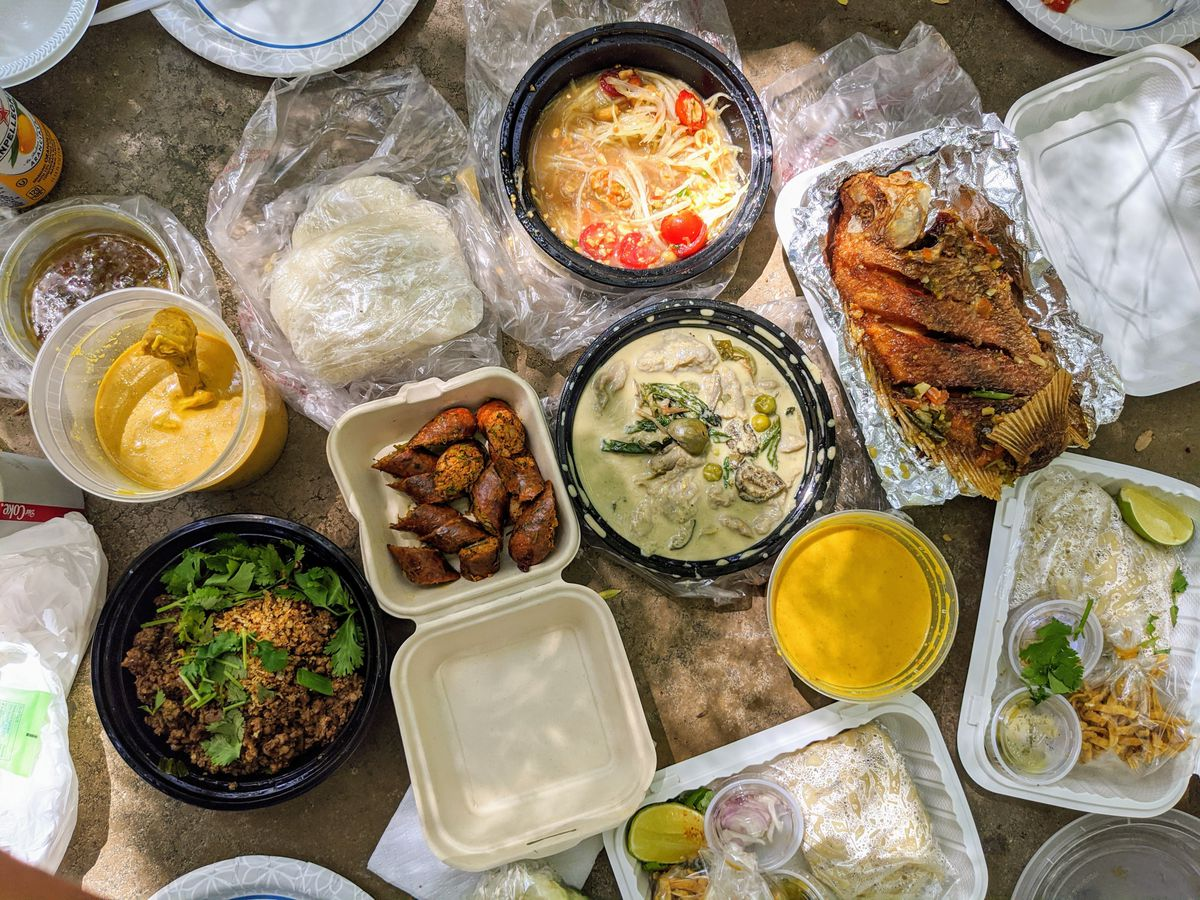 For stellar Thai dishes in the Griffith Park shade: Northern Thai Food Club.