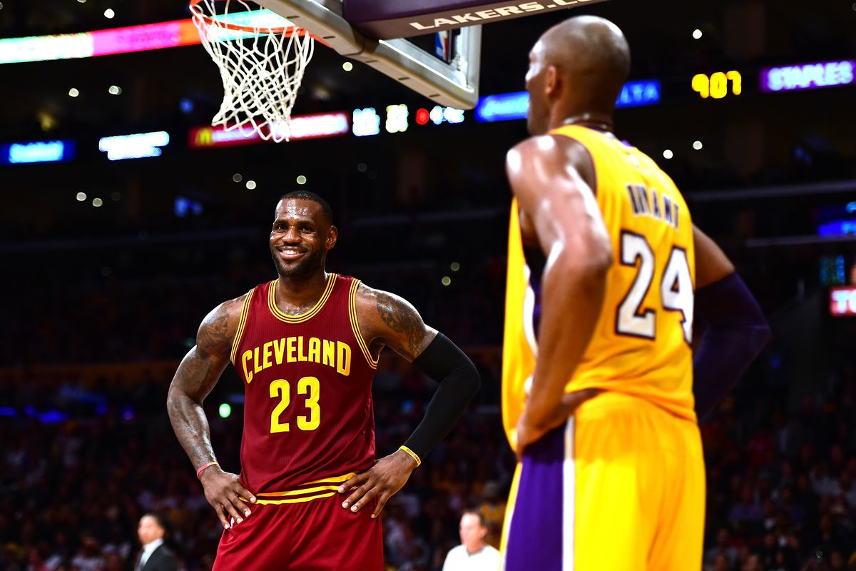e5678f3fea4 NBA Free Agency  Kobe Bryant on LeBron James signing with the Lakers ...