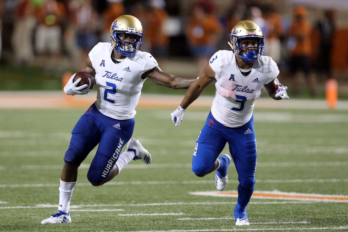NCAA Football: Tulsa at Texas