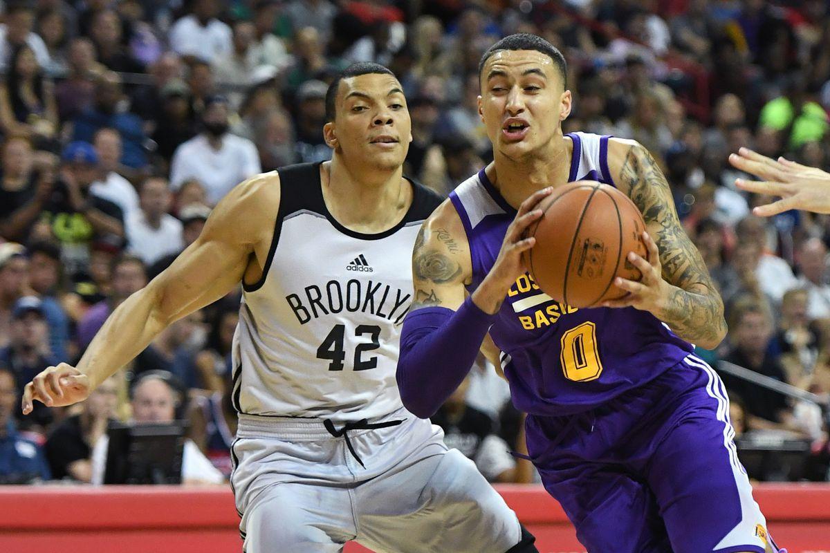 2017 Las Vegas Summer League - Brooklyn Nets v Los Angeles Lakers