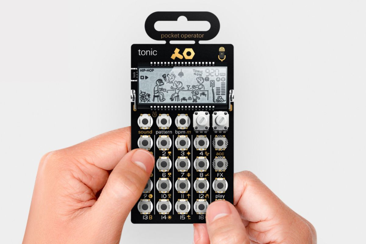 The PO-32 is a pocket drum machine that can transfer beats