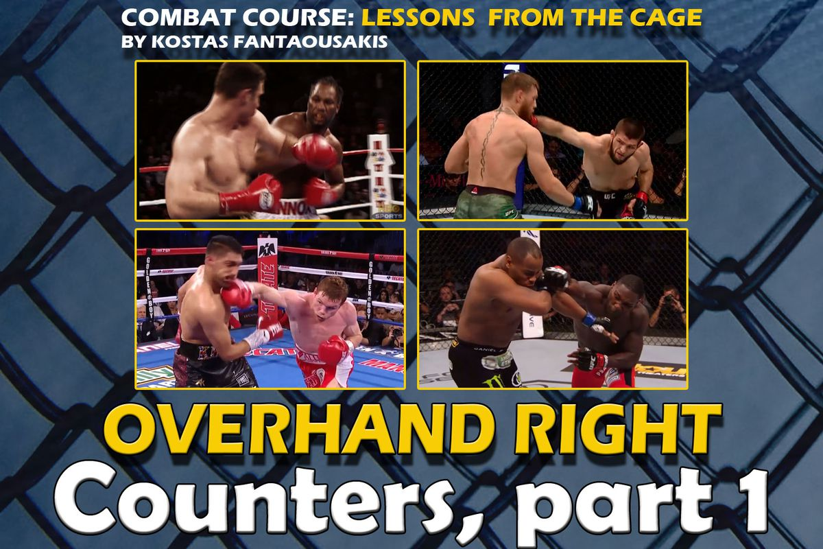 MMA Technique Analysis: Countering the overhand right, part