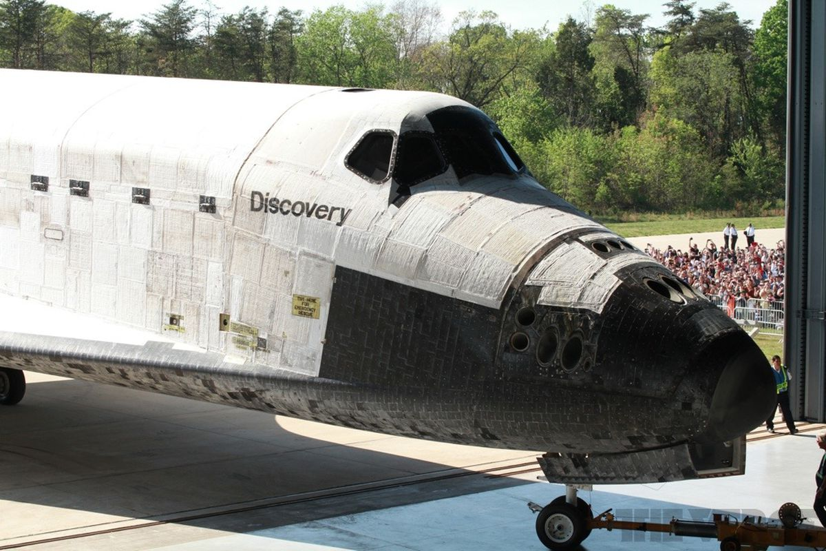 Gallery Photo: Space Shuttle Discovery