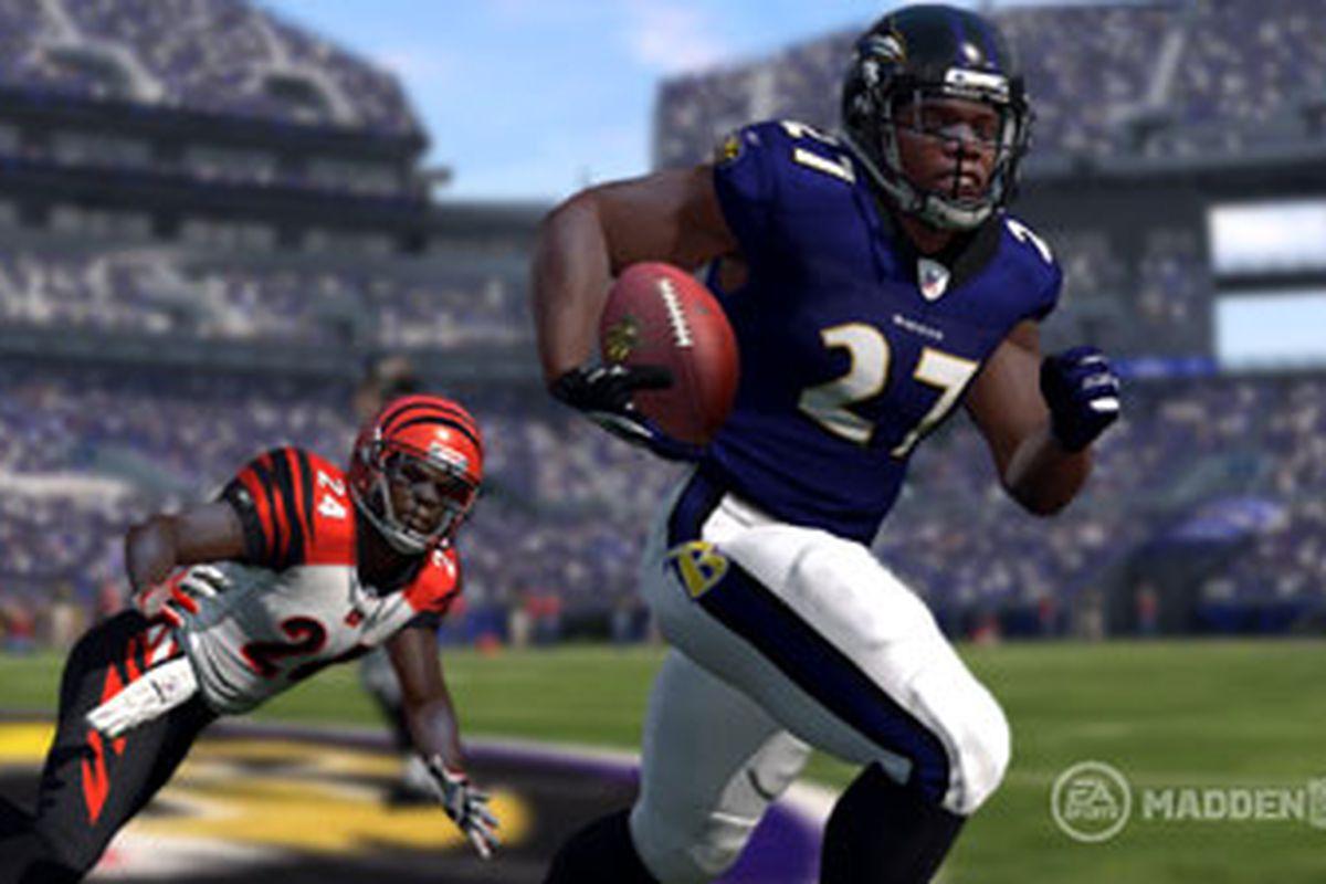 Ravens' Ray Rice - Madden NFL 13
