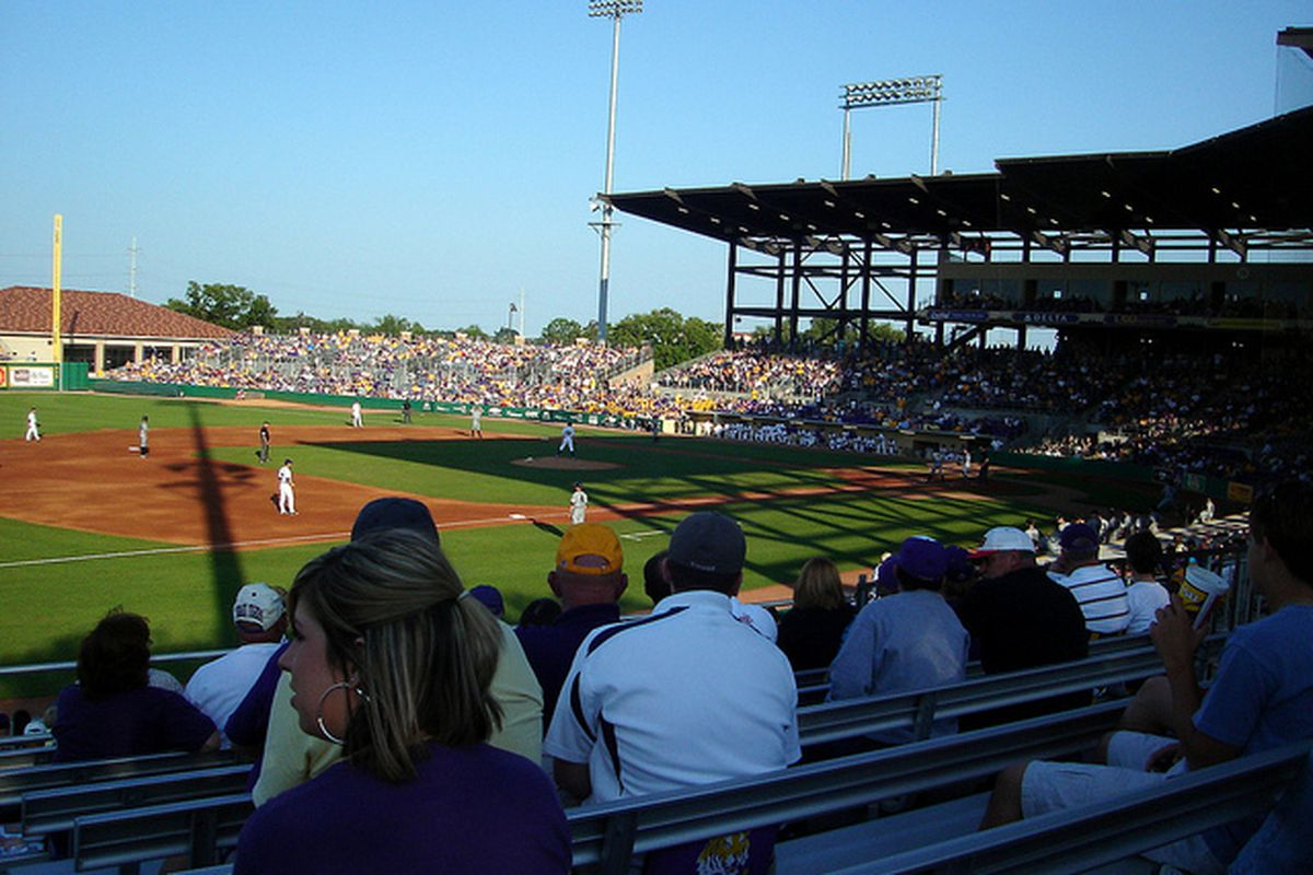 Vandy and LSU square off. Photo courtesy of Shoshana at Flickr.