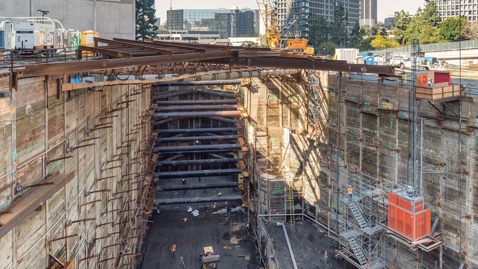 A Peek Into The Regional Connector S Under Construction