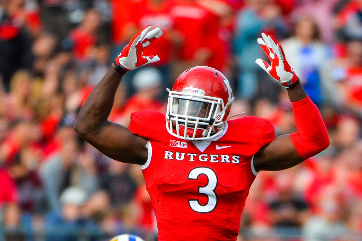 detailed look 82543 5695e Breaking Down Rutgers Prospects for the 2016 NFL Draft - On ...
