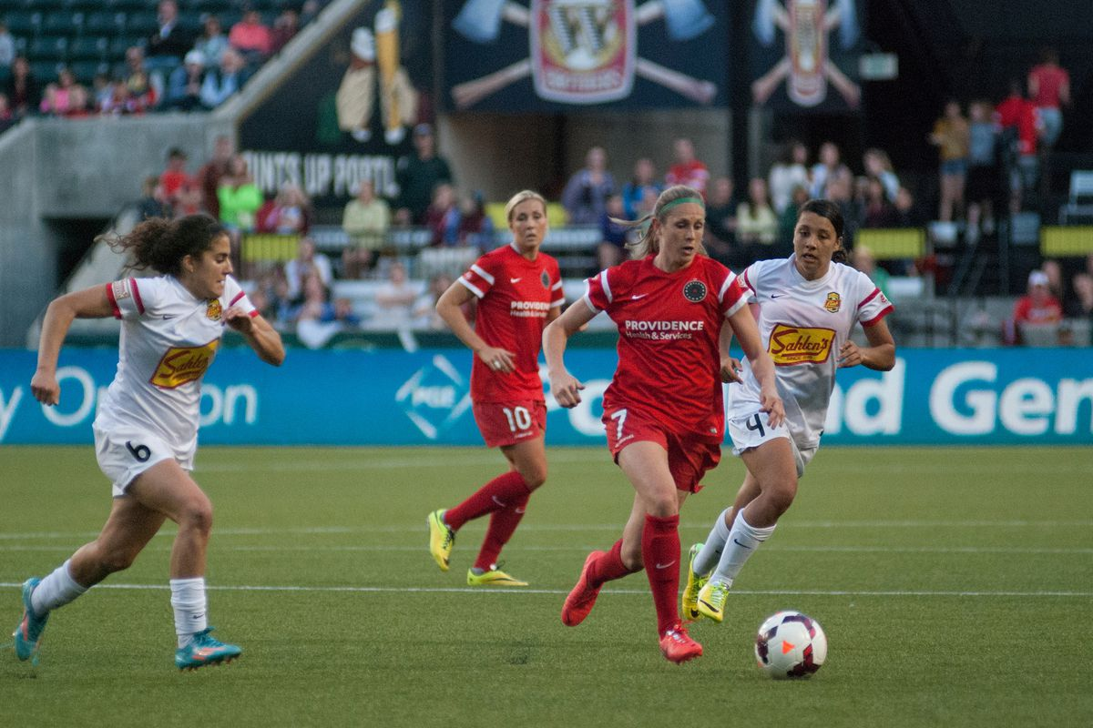 The play of Nikki Marshal will be vital for the Thorns today.