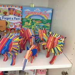 Toys made from recycled flip flops- 50% off