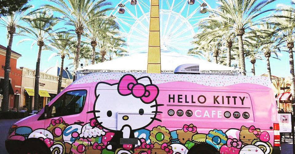 The Hello Kitty Café Truck Is Headed Back To DFW