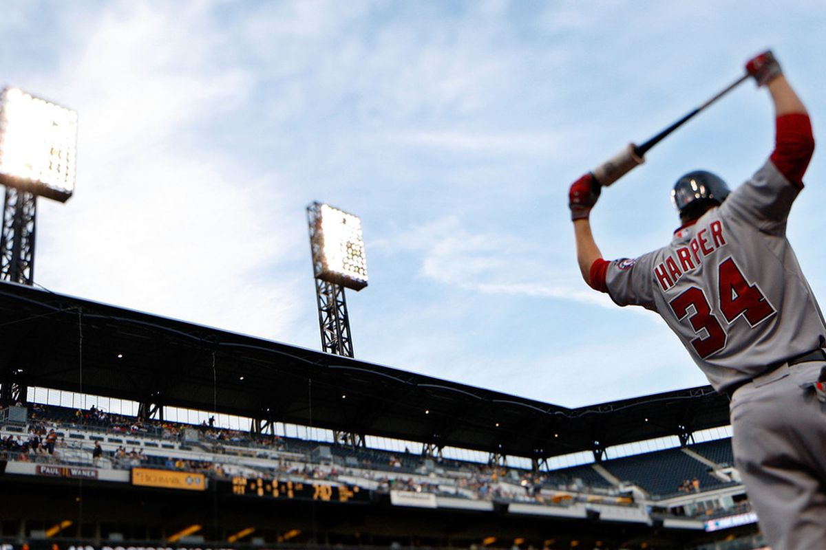 Bryce Harper represents an emerging group of younger ballplayers in recent seasons.