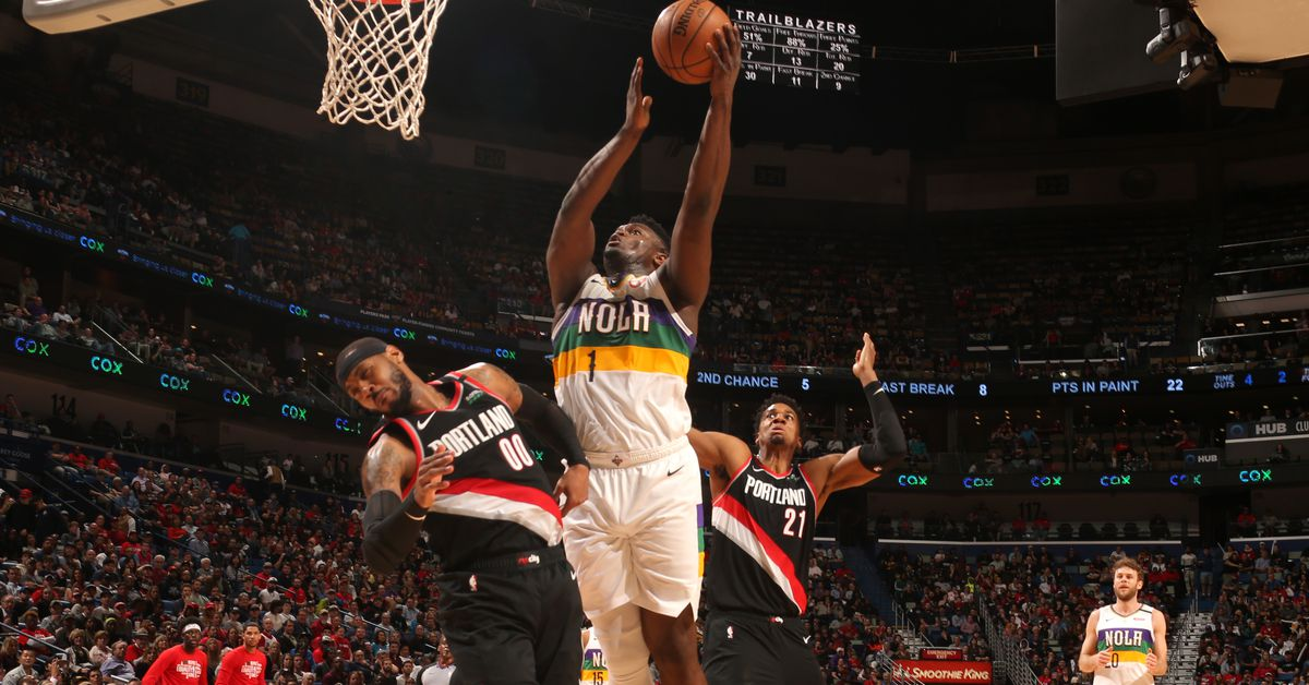NBA Preview: New Orleans Pelicans chasing season sweep of Portland Trail Blazers