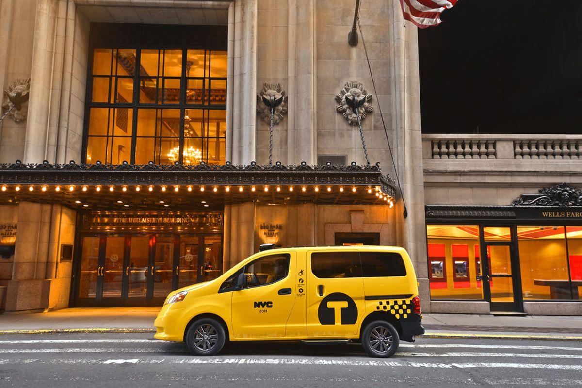 "Photos via <a href=""http://nissannews.com/en-US/nissan/usa/channels/us-united-states-nissan-cv-nv200-taxi/photos?query"">Nissan</a>."