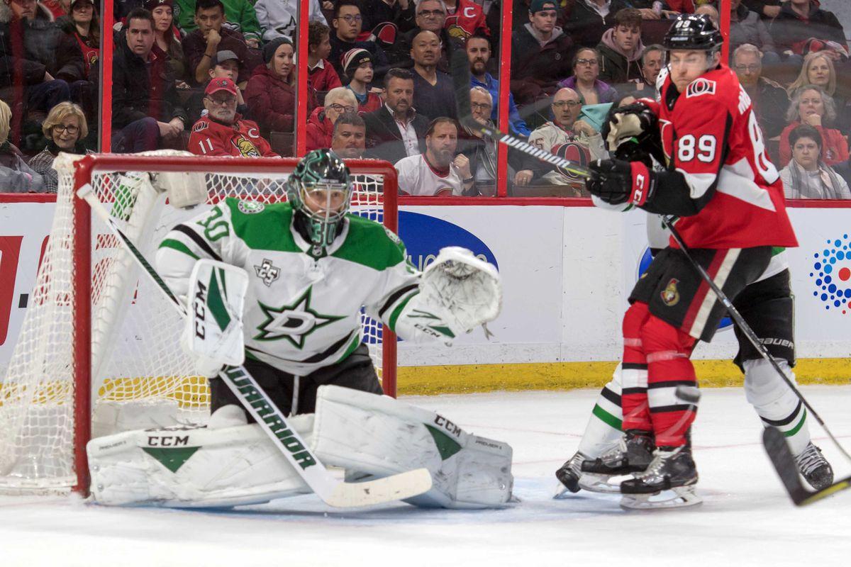 NHL: Dallas Stars at Ottawa Senators