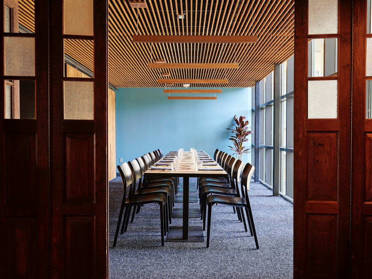 The private dining room at Nari