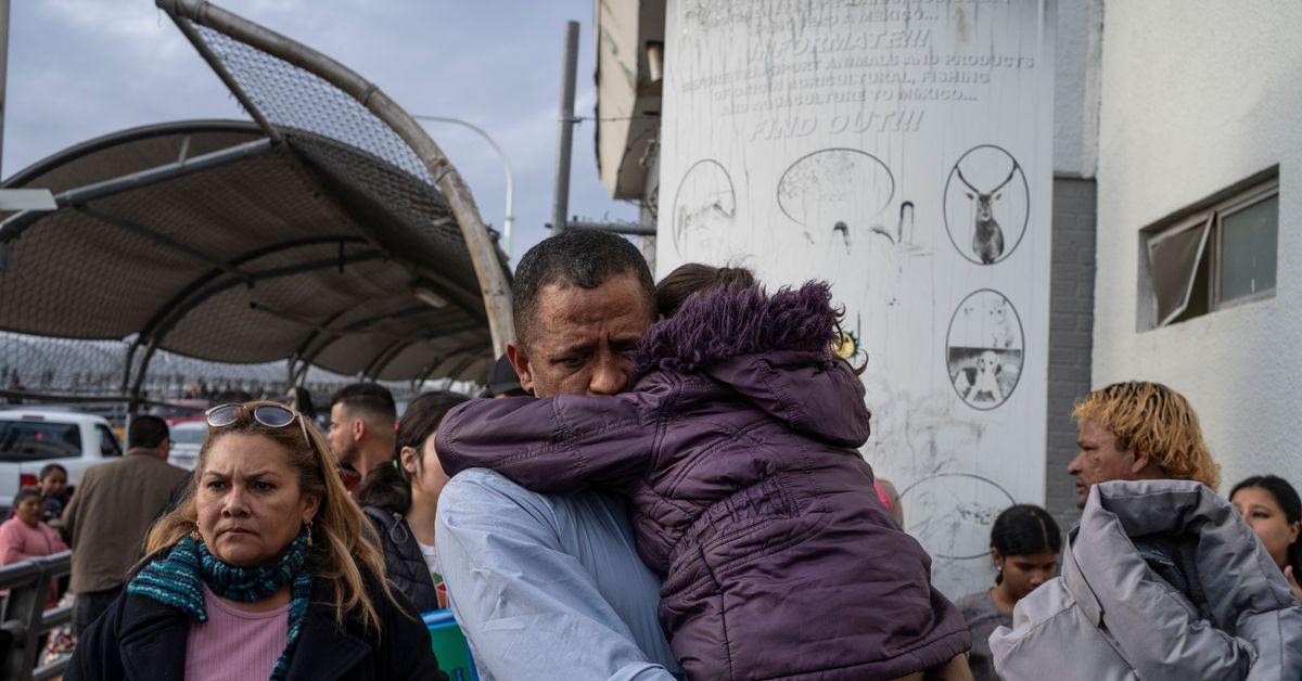 www.vox.com: Biden to allow asylum seekers Trump kept in Mexico to enter US