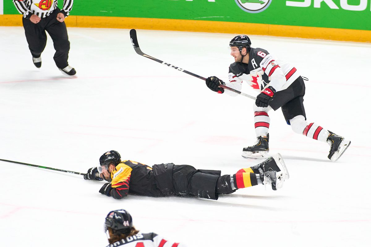 Germany v Canada: Group B - 2021 IIHF Ice Hockey World Championship