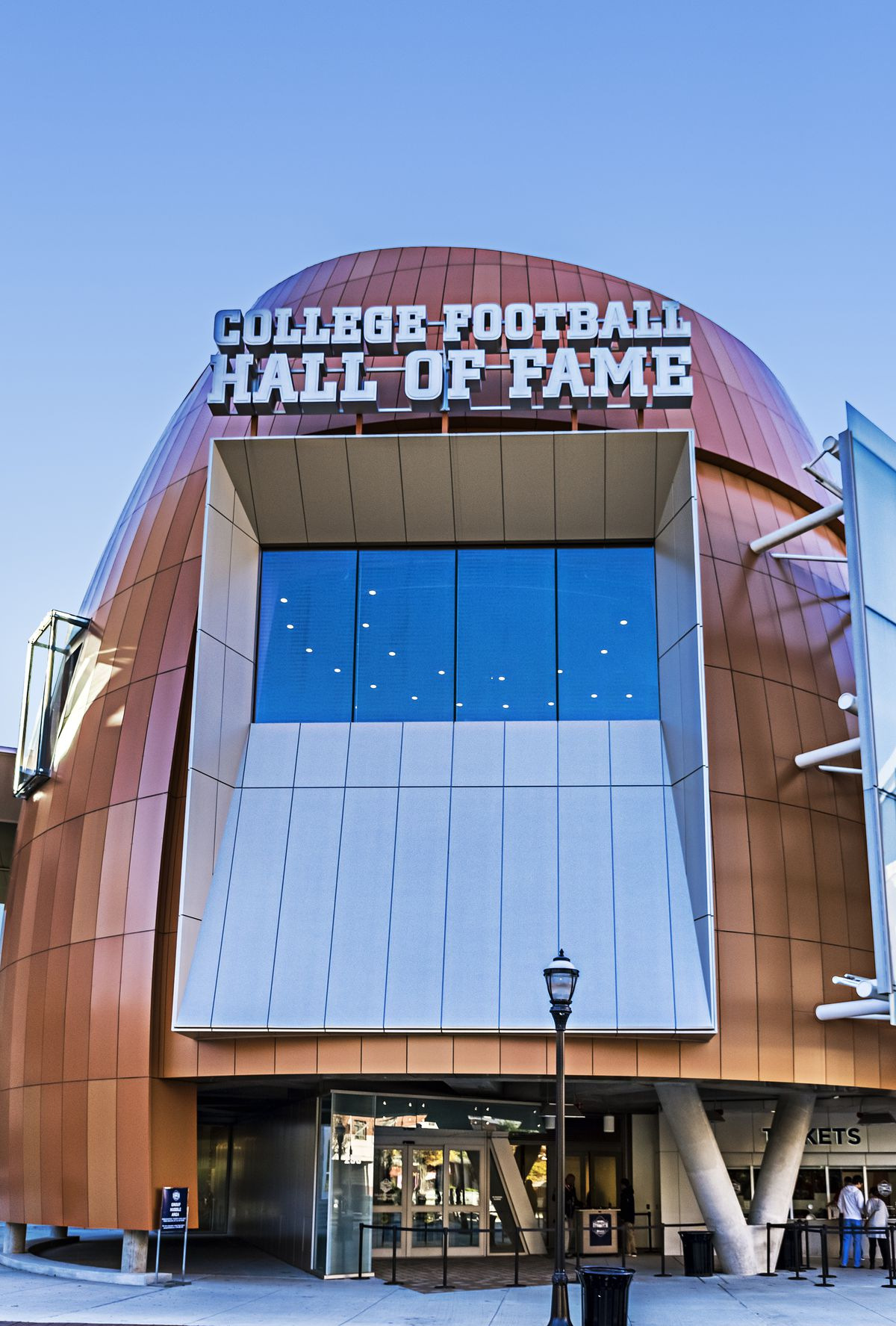 College Football Hall of Fame...