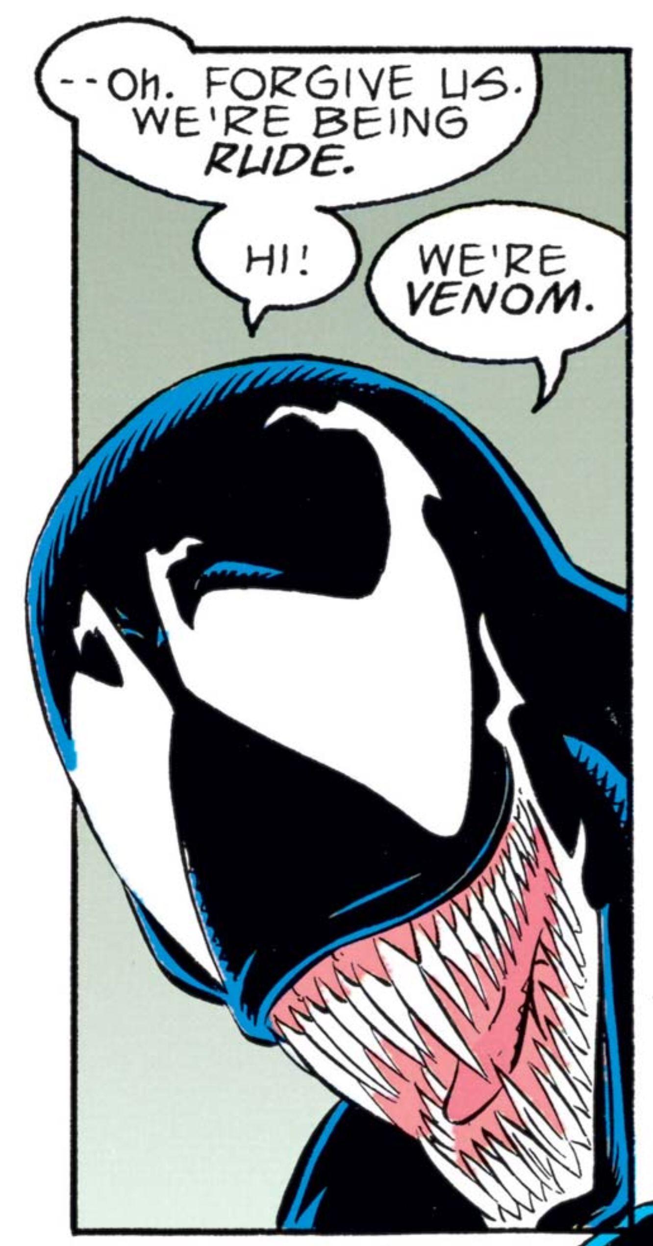 Venom's rumored Tom Hardy kiss ties in to alien's sex symbol status