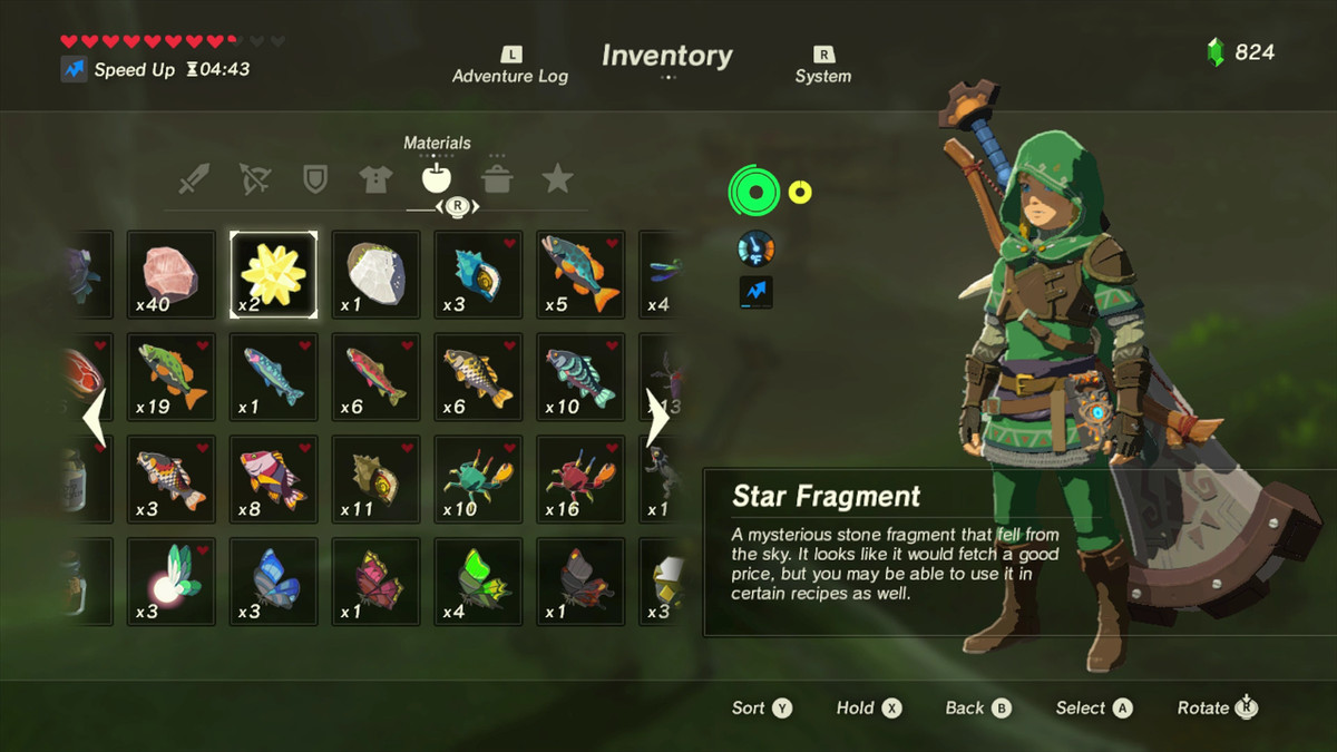 Zelda Breath of the Wild star fragments: How to find them