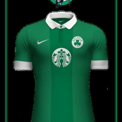 quality design bdd0d 181d6 What would a Boston Celtics soccer kit look like? - CelticsBlog