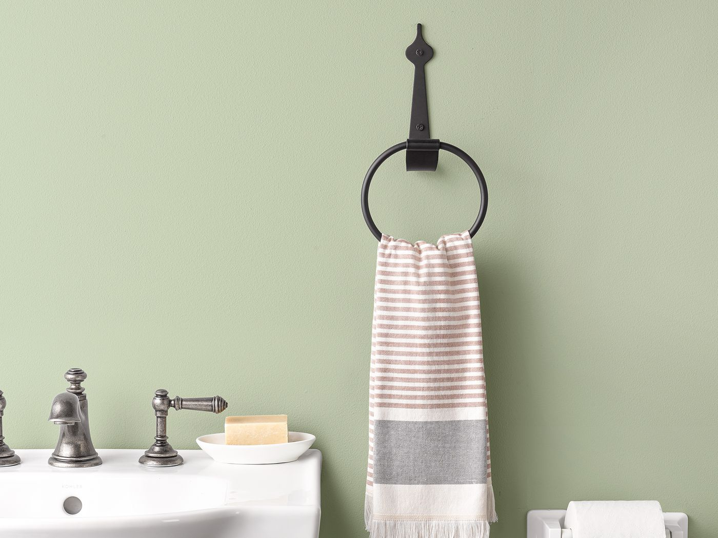 Towel Rings This Old House