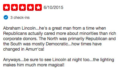 Yelp Government Review
