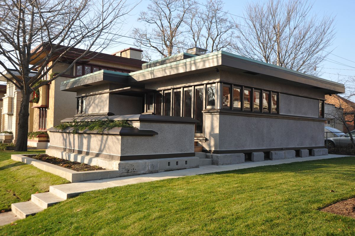 Frank lloyd wright s forgotten prefabs curbed for Frank lloyd wright stile prateria